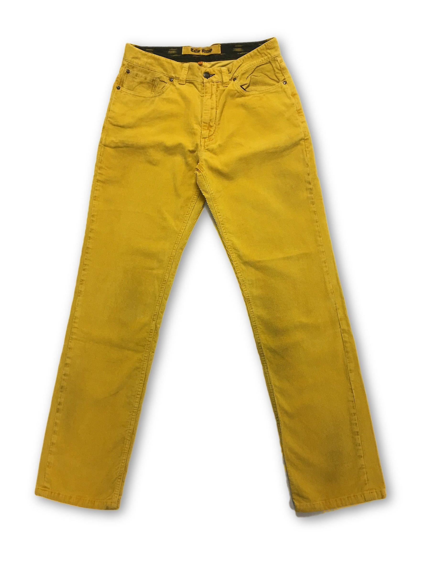 Tailor Vintage cord jeans in jaune