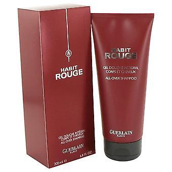 Vane Rouge hår & krop shower gel af Guerlain