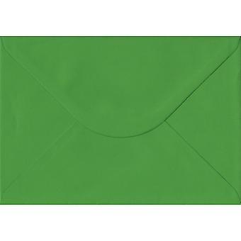 Vert fougère gommé C5/A5 couleurs verts enveloppes. 100gsm FSC papier durable. 162 mm x 229 mm. banquier Style enveloppe.