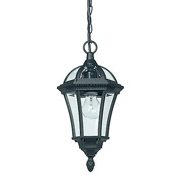Endon YG-3503 Exterior Hanging Lantern In Black