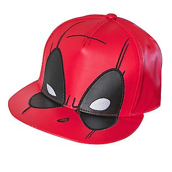 Deadpool Giant Logo Snapback Hat