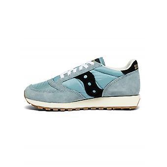 Saucony Saucony Pale Blue & Black Jazz Original Vintage Sneaker