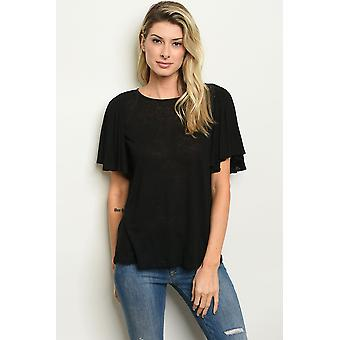 Womens rufled top