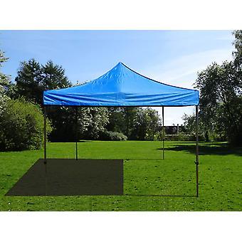 Vouwtent/Easy up tent FleXtents Easy up pavillon Basic v.2, 4x4m Blauw