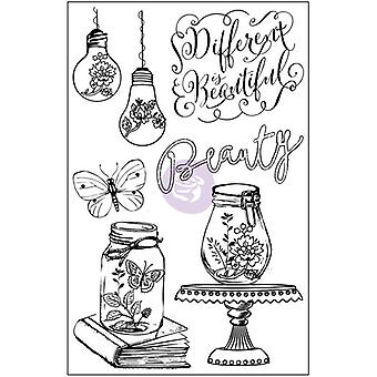 Salvage District Cling Rubber Stamps 4