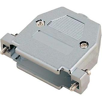 D-SUB housing Number of pins: 9 Plastic, metallised 180 ° Silver MH Connectors 2360-0105-01 1 pc(s)