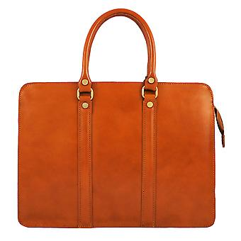 CTM work bag, Briefcase, 24 hours for women genuine leather made in italy