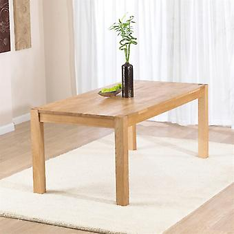 Mark Harris Verona 120cm Solid Oak Dining Table
