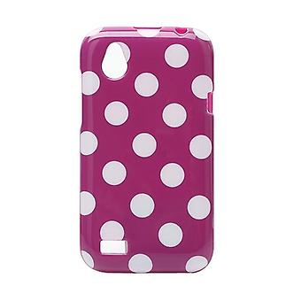 Protective cover for mobile HTC desire V T328w