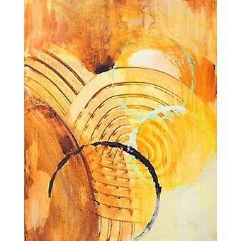 Utöver II affisch Skriv av Lanie Loreth