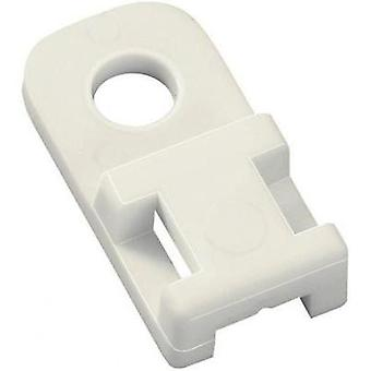Cable mount Screw fixing Transparent HellermannT