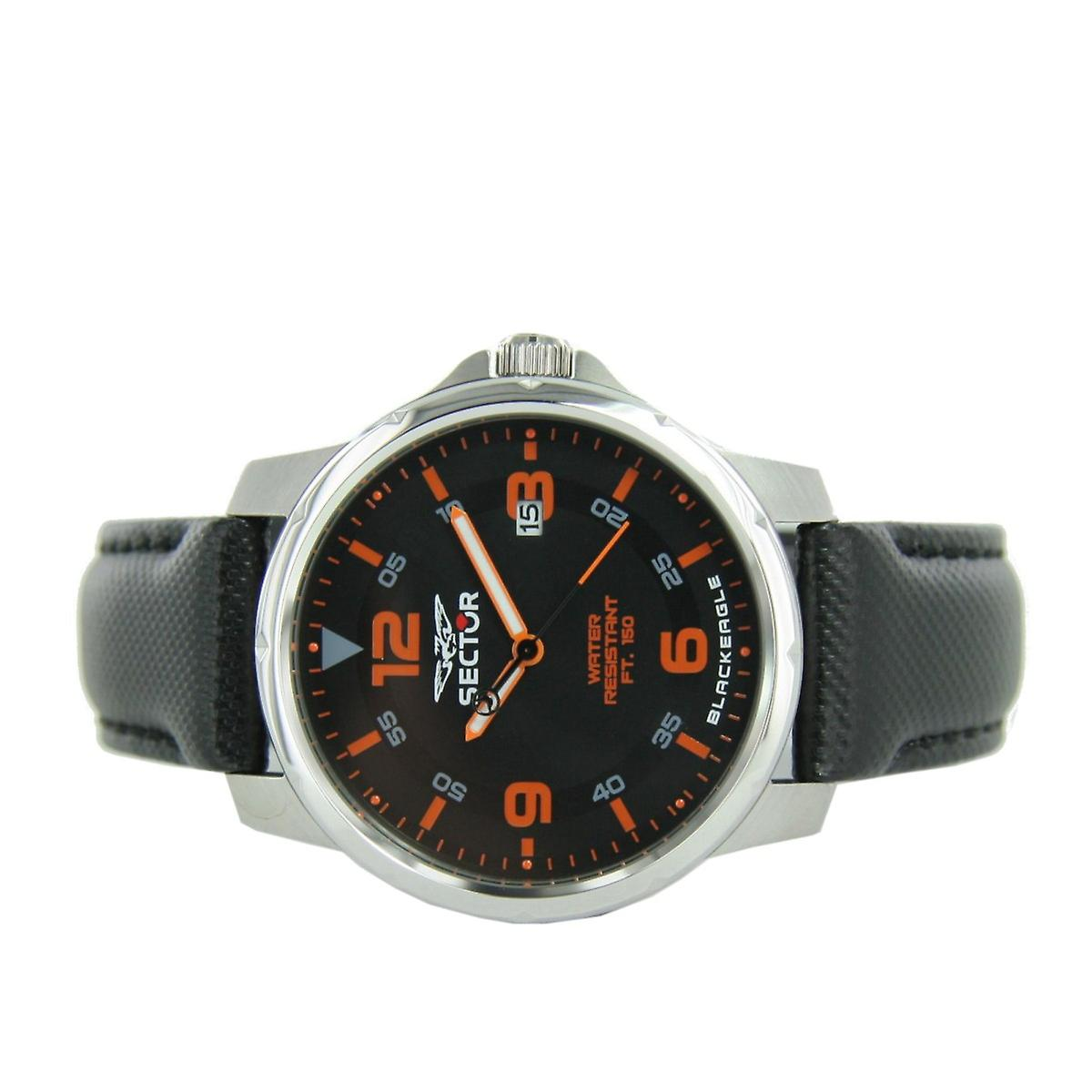 Sector Men clock watch no limits - Black Eagle R3251189002