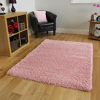 Soft Baby Pink Shaggy Fireplace Rug Ontario