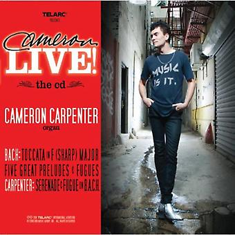 Cameron Live! (CD + DVD Combo) af Cameron Carpenter