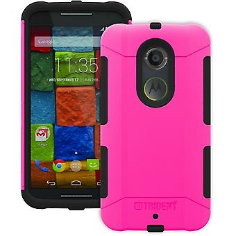 Trident Aegis Case for Motorola Moto X 2nd Gen - Pink