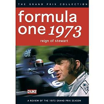 F1 anmeldelse 1973 regeringstid af Stewart [DVD] USA importerer