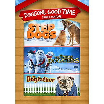 Step Dogs / 3 Dogateers / Dogfather [DVD] USA import