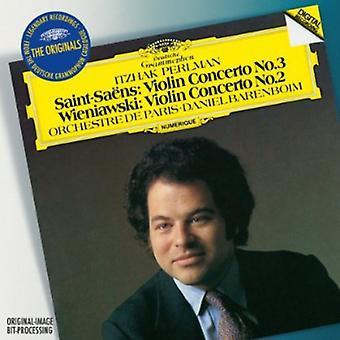 C. Saint-Saens-Saint-Sa Ns: Violinkonzert Nr. 3; Wieniawski: Violin Concerto Nr. 2 [CD] USA importieren