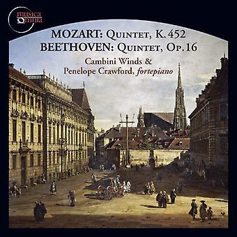 Mozart/Beethoven/Crawford/Vallon/Watkins - Mozart, Beethoven: Quintette [CD] USA Import