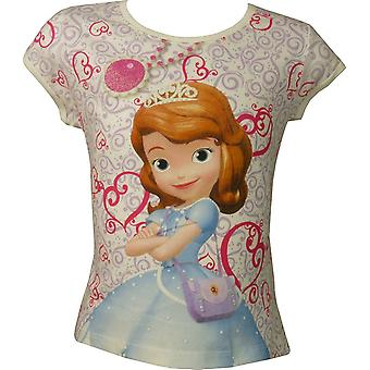 Girls Disney Princess Sofia The First short sleeve – T-shirt