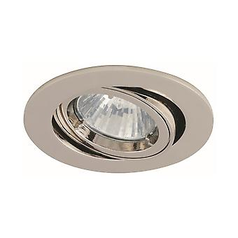 Ansell Ansell Twistlock Gimbal GU10/MR16 Brushed Chrome Downlight