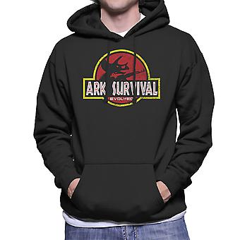 Ark Survival Evolved Jurasic Park Men's Hooded Sweatshirt
