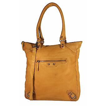 Redondo - grande borsa shopper in pelle lavata spalla Messenger bag