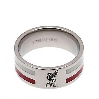 Liverpool color raya anillo grande