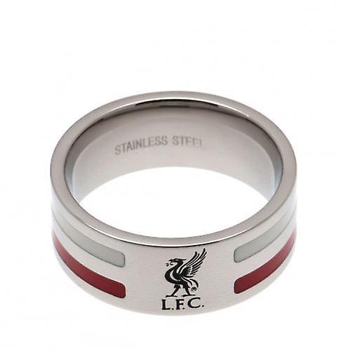 Liverpool farge Stripe Ring Medium