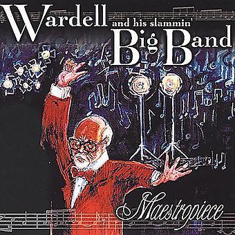 Wardell & hans Slammin bigband - Maestropiece [CD] USA importerer