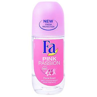 Fa Pink Passion Deodorant Roll (Pink) (Woman , Cosmetics , Body Care , Deodorants)