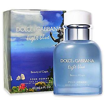 Dolce & Gabbana Capri Beauty Of Light Blue Pour Homme Eau De Toilette 75 Ml