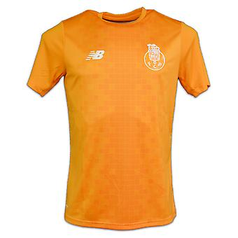 2017-2018 Porto Pre-Match Elite Trainingsshirt (Orange)