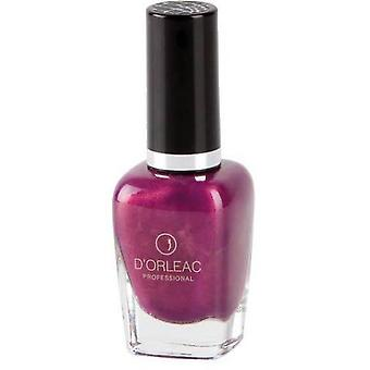 D'Orleac Nail Polish No. 6 Plum Croco (Femme , Maquillage , Ongles , Vernis)