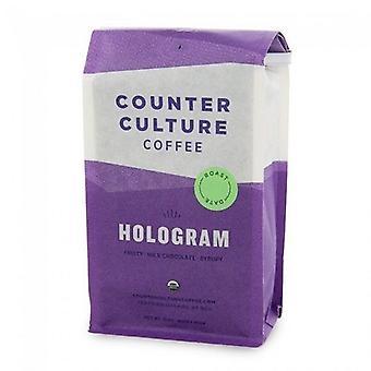 Motverka kultur kaffe Hologram blandning hela Bean kaffe 2-Pack
