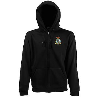 Legal Branch Embroidered Logo - Official Royal Air Force Zipped Hoodie Jacket