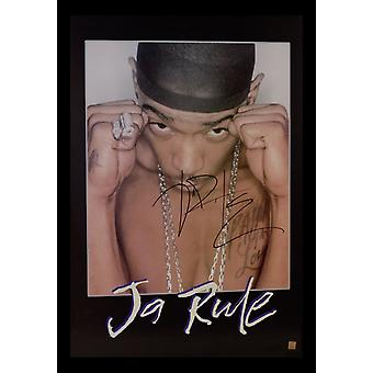 Ja Rule Signed Poster