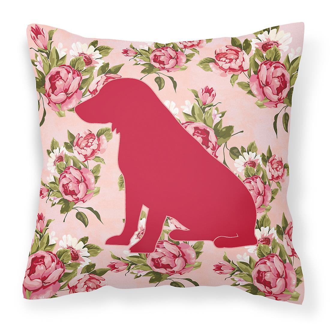 Spaniel Boykin Roses Tissu Décoratif Chic Shabby Oreiller pqSVzUMG