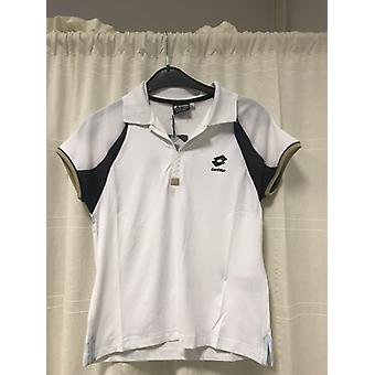 Lotto Polo WTA Tour gold of white/navy G7959