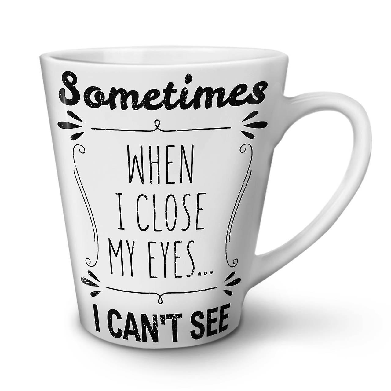 Céramique Ferme Café Latte Drôle 12 Mug Les Blanc Yeux Je OzWellcoda Voir Thé En Nouveau 435qAjRL