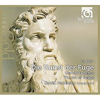 Bach / Moroney, Davitt - Die Kunst Der Fuge [CD] USA import