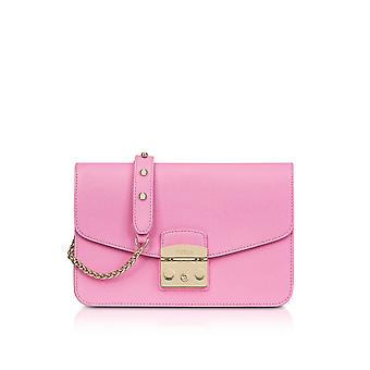 FURLA ladies 920374 Rosa LEDER shoulder bag