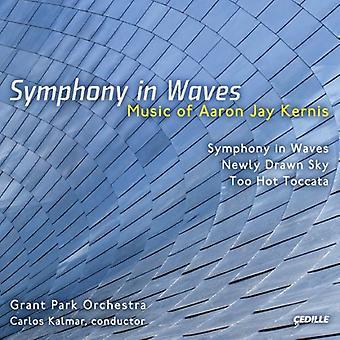 A.J. Kernis - Aaron Jay Kernis: Symfoni i bølger [CD] USA import