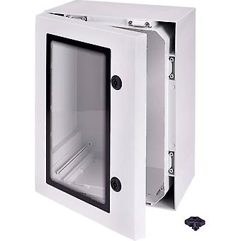 Wall-mount enclosure, Build-in casing 400 x 300 x 210 Polycarbonate (PC) Ligh