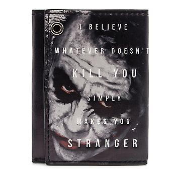 DC Comics Batman Joker ID & Card Tri-Fold Wallet