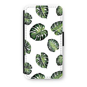 Huawei P9 Flip Case - Tropical leaves