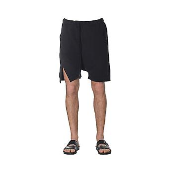 Nostrasantissima men's PP1601000 black cotton of shorts