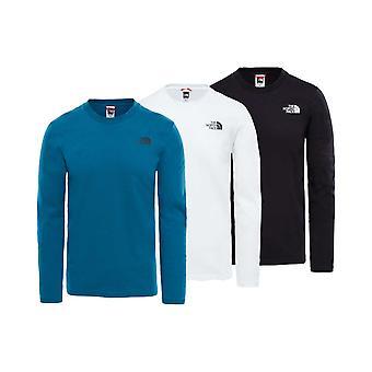 North Face Mens Long Sleeve einfach T-Shirt