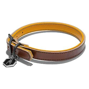 Wolfgang Horween Leather Collar XL Tan
