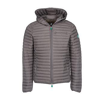 Save the duck men's D3712MRECY600015 grey polyamide Quilted Jacket